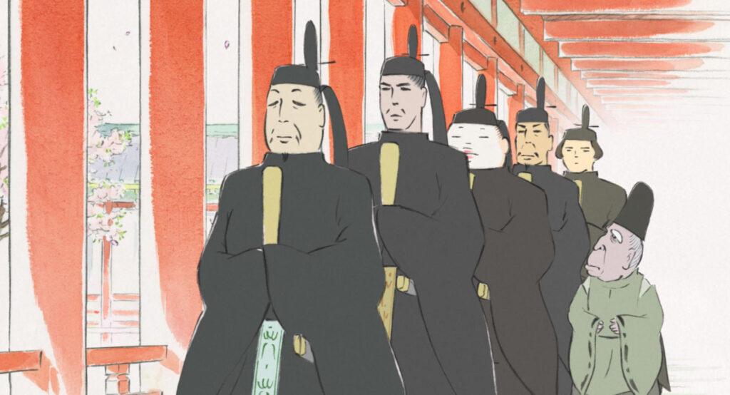 かぐや姫の5人の貴公子